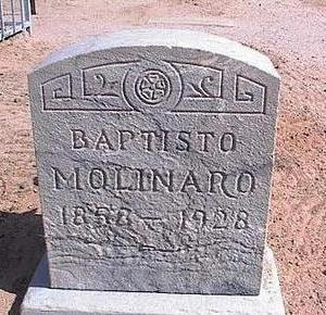MOLINARO, BAPTISTO - Pinal County, Arizona | BAPTISTO MOLINARO - Arizona Gravestone Photos