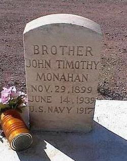 MONAHAN, JOHN TIMOTHY - Pinal County, Arizona | JOHN TIMOTHY MONAHAN - Arizona Gravestone Photos