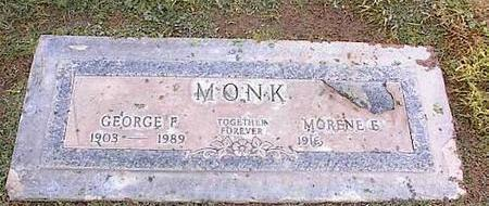 MONK, MORENE E. - Pinal County, Arizona   MORENE E. MONK - Arizona Gravestone Photos