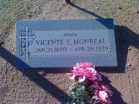 MONREAL, VICENTE S - Pinal County, Arizona | VICENTE S MONREAL - Arizona Gravestone Photos