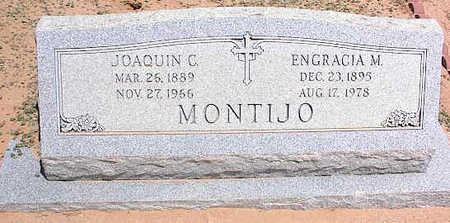 MONTIJO, ENGRACIA M. - Pinal County, Arizona | ENGRACIA M. MONTIJO - Arizona Gravestone Photos