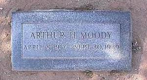 MOODY, ARTHUR H. - Pinal County, Arizona | ARTHUR H. MOODY - Arizona Gravestone Photos