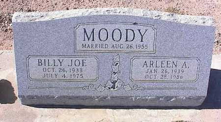 MOODY, ARLEEN A. - Pinal County, Arizona | ARLEEN A. MOODY - Arizona Gravestone Photos