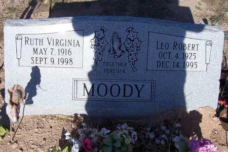 MOODY, LEO ROBERT - Pinal County, Arizona   LEO ROBERT MOODY - Arizona Gravestone Photos