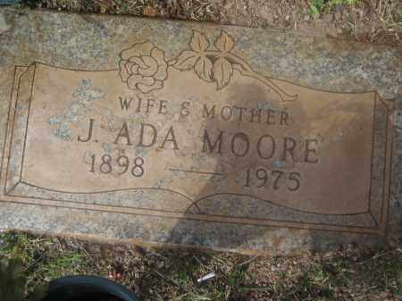 MOORE, J. ADA - Pinal County, Arizona | J. ADA MOORE - Arizona Gravestone Photos
