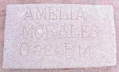MORALES, AMELIA - Pinal County, Arizona | AMELIA MORALES - Arizona Gravestone Photos