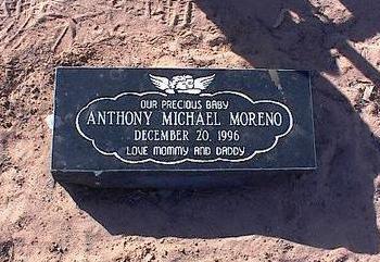 MORENO, ANTHONY MICHAEL - Pinal County, Arizona | ANTHONY MICHAEL MORENO - Arizona Gravestone Photos