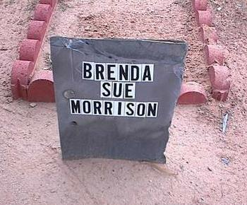 MORRISON, BRENDA SUE - Pinal County, Arizona | BRENDA SUE MORRISON - Arizona Gravestone Photos