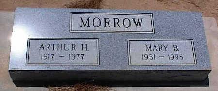 MORROW, ARTHUR H. - Pinal County, Arizona   ARTHUR H. MORROW - Arizona Gravestone Photos