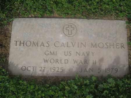 MOSHER, THOMAS CALVIN - Pinal County, Arizona | THOMAS CALVIN MOSHER - Arizona Gravestone Photos