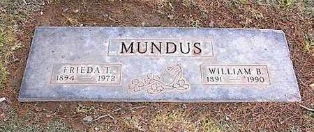 MUNDUS, FRIEDA T. - Pinal County, Arizona | FRIEDA T. MUNDUS - Arizona Gravestone Photos