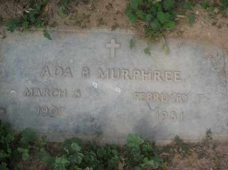 MURPHREE, ADA B. - Pinal County, Arizona | ADA B. MURPHREE - Arizona Gravestone Photos