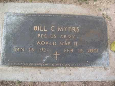 MYERS, BILL C. - Pinal County, Arizona | BILL C. MYERS - Arizona Gravestone Photos