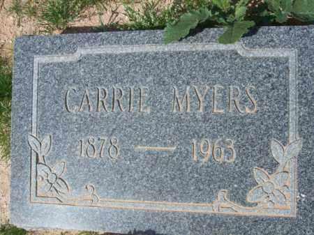 MYERS, CARRIE - Pinal County, Arizona | CARRIE MYERS - Arizona Gravestone Photos