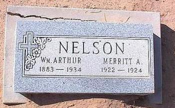 NELSON, MERRITT A. - Pinal County, Arizona | MERRITT A. NELSON - Arizona Gravestone Photos