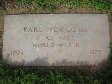 NEWCOMB, EARL - Pinal County, Arizona | EARL NEWCOMB - Arizona Gravestone Photos