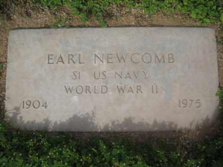 NEWCOMB, EARL - Pinal County, Arizona   EARL NEWCOMB - Arizona Gravestone Photos
