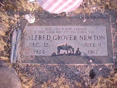 NEWTON, ALFRED GROVER - Pinal County, Arizona   ALFRED GROVER NEWTON - Arizona Gravestone Photos