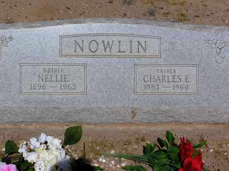 NOWLIN, CHARLES E - Pinal County, Arizona | CHARLES E NOWLIN - Arizona Gravestone Photos