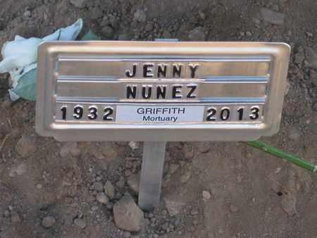 "NUNEZ, JUANITA ""JENNY"" - Pinal County, Arizona | JUANITA ""JENNY"" NUNEZ - Arizona Gravestone Photos"