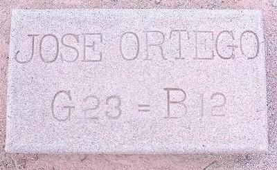 ORTEGO, JOSE - Pinal County, Arizona   JOSE ORTEGO - Arizona Gravestone Photos