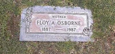 OSBORNE, FLOY A. - Pinal County, Arizona | FLOY A. OSBORNE - Arizona Gravestone Photos