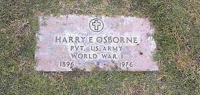 OSBORNE, HARRY E. - Pinal County, Arizona | HARRY E. OSBORNE - Arizona Gravestone Photos