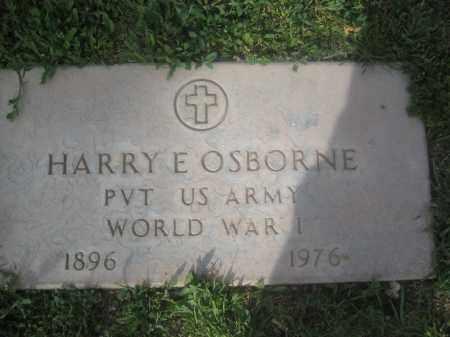 OSBORNE, HARRY E. - Pinal County, Arizona | HARRY E. OSBORNE - Arizona Gravestone Photos