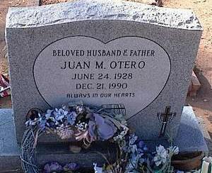 OTERO, JUAN M. - Pinal County, Arizona | JUAN M. OTERO - Arizona Gravestone Photos