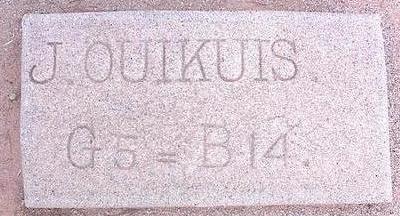 OUIKUIS, J. - Pinal County, Arizona | J. OUIKUIS - Arizona Gravestone Photos