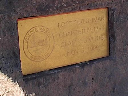 OURY, GRANVILLE [PLAQUE] - Pinal County, Arizona   GRANVILLE [PLAQUE] OURY - Arizona Gravestone Photos