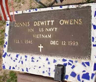 OWENS, DENNIS DEWITT - Pinal County, Arizona   DENNIS DEWITT OWENS - Arizona Gravestone Photos