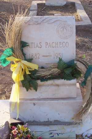 PACHECO, MATIAS - Pinal County, Arizona   MATIAS PACHECO - Arizona Gravestone Photos
