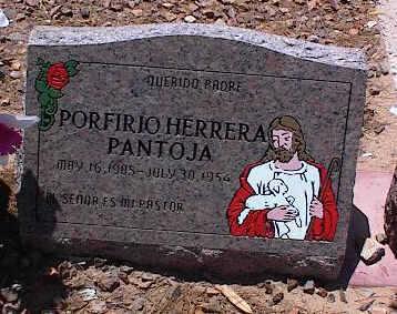 PANTOJA, PORTIRJO HERRERA - Pinal County, Arizona | PORTIRJO HERRERA PANTOJA - Arizona Gravestone Photos