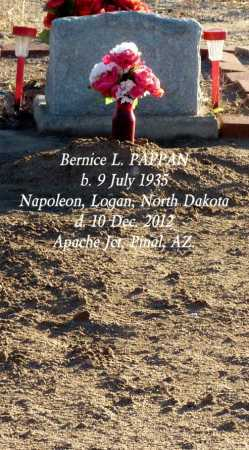 OLSEN PAPPAN, BERNICE L. - Pinal County, Arizona   BERNICE L. OLSEN PAPPAN - Arizona Gravestone Photos