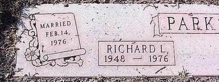 PARKS, RICHARD L. - Pinal County, Arizona | RICHARD L. PARKS - Arizona Gravestone Photos