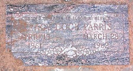 PARRIS, TRACY DOCK - Pinal County, Arizona | TRACY DOCK PARRIS - Arizona Gravestone Photos