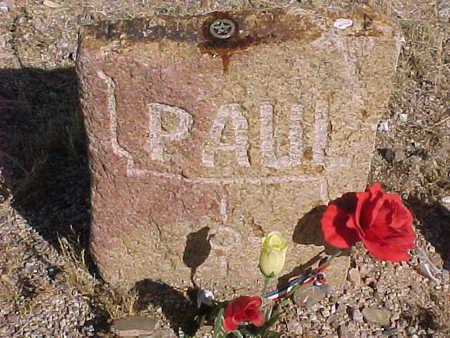 WILLIAMS, PAUL - Pinal County, Arizona | PAUL WILLIAMS - Arizona Gravestone Photos