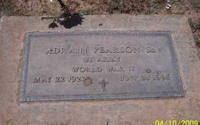 PEARSON, ADRAIN, SR. - Pinal County, Arizona   ADRAIN, SR. PEARSON - Arizona Gravestone Photos