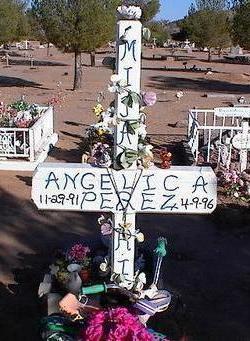 PEREZ, ANGELICA - Pinal County, Arizona | ANGELICA PEREZ - Arizona Gravestone Photos