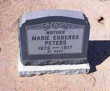EGGARS PETERS, MARIE - Pinal County, Arizona | MARIE EGGARS PETERS - Arizona Gravestone Photos
