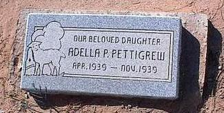 PETTYGREW, ADELLA P. - Pinal County, Arizona | ADELLA P. PETTYGREW - Arizona Gravestone Photos