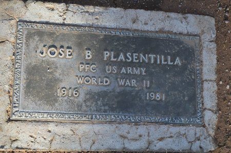 PLASENTILLA, JOSE B. - Pinal County, Arizona | JOSE B. PLASENTILLA - Arizona Gravestone Photos