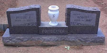 POINDEXTER, ROSSIE J. - Pinal County, Arizona | ROSSIE J. POINDEXTER - Arizona Gravestone Photos