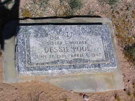 POOL, DESSIE - Pinal County, Arizona | DESSIE POOL - Arizona Gravestone Photos