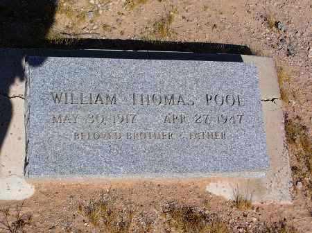 POOL, WILLIAM THOMAS - Pinal County, Arizona | WILLIAM THOMAS POOL - Arizona Gravestone Photos