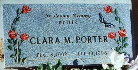SNELSON PORTER, CLARA - Pinal County, Arizona | CLARA SNELSON PORTER - Arizona Gravestone Photos