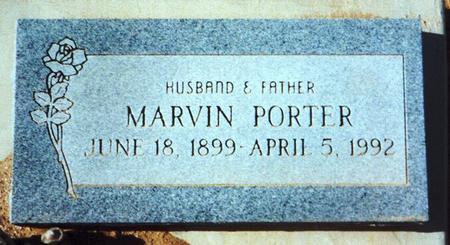 PORTER, MARVIN - Pinal County, Arizona | MARVIN PORTER - Arizona Gravestone Photos
