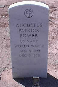 POWER, AUGUSTUS PATRICK - Pinal County, Arizona | AUGUSTUS PATRICK POWER - Arizona Gravestone Photos