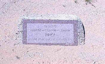 PRICE, LORENE - Pinal County, Arizona | LORENE PRICE - Arizona Gravestone Photos